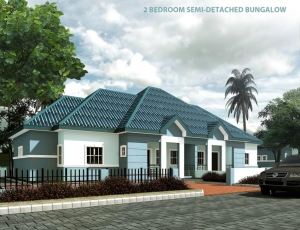 2b semi-d bungalow B